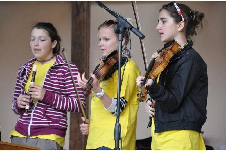 Folklorní soubor Slováček Brno v Mirošově
