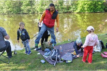 Rybářské závody dětí 2019