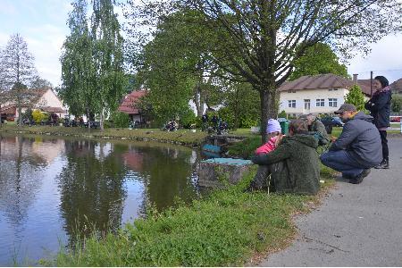 Rybářské závody dětí 2021
