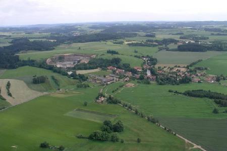 Letecké záběry Mirošova